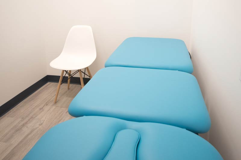 physiotherapy examination room